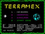 Cosmic Relief: Prof. Renegade to the Rescue ZX Spectrum Title screen