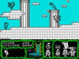 Cosmic Relief: Prof. Renegade to the Rescue ZX Spectrum The birds mave fixed paths to avoid