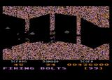 Gauntlet Atari 8-bit Enemy ships will snipe at you through your little openings, too.