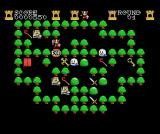 Griel's Quest for the Sangraal MSX PON! says the ogre and disappears