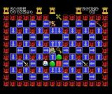 Griel's Quest for the Sangraal MSX One-way tiles all over the place