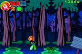 Disney's Kim Possible: Revenge of Monkey Fist Game Boy Advance A change of scenery - a murky forest