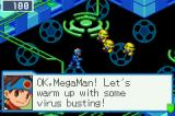 Mega Man Battle Network 5: Team Protoman Game Boy Advance Viruses have invaded Lan's webpage!