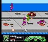 Teenage Mutant Ninja Turtles III: The Manhattan Project NES Ninja Turtles aboard a military aircraft