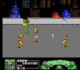 Teenage Mutant Ninja Turtles III: The Manhattan Project NES Boomerang Foot soldiers attacking, and putting many sprites on the screen