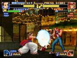 The King of Fighters '99: Millennium Battle PlayStation Li Xiangfei could stop Mai Shiranui's Striker Attack through the wise execution of his Nanpa move.