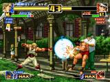 The King of Fighters '99: Millennium Battle PlayStation To say the true, Joe Higashi is in a big trouble with the 4 hits of Andy Bogard's Geki Hishou Ken...