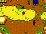 Rambo: First Blood Part II SEGA Master System A tank covers the infantry