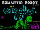 Wriggler ZX Spectrum Loading screen