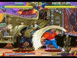 Street Fighter Collection PlayStation A simultaneous-clashing-attack involving both Birdie's head-based move and Sodom's Jigoku Scrape.