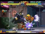 "Street Fighter Collection PlayStation Vega (M. Bison) stunning Birdie through 2 ""single""-successful hits of his Double Knee Press move."