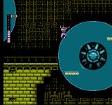 Shadow of the Ninja NES Platforms rotating around on the big wheels