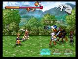 Atelier Iris 2: The Azoth of Destiny PlayStation 2 A battle! Preparing a charge attack...