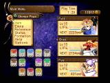 Atelier Iris 2: The Azoth of Destiny PlayStation 2 The main in-game menu