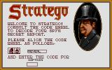 Stratego Atari ST Copy protection