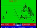 SuperStar Soccer ZX Spectrum More of a melee for this goal