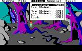 The Black Cauldron DOS This game has no parser, you use the function keys to initiate actions.