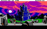 The Black Cauldron DOS The castle of the Horned King.