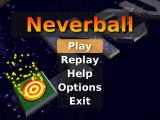 Neverball Windows Main Menu