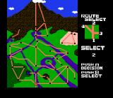 Clash at Demonhead NES Finish the Route 1 and select your next route