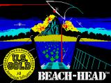 Beach-Head ZX Spectrum Loading screen