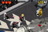 LEGO Star Wars II: The Original Trilogy Game Boy Advance Luke, followed by the two droids, makes way in the Death Star hangar