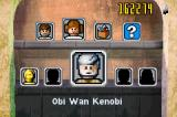 LEGO Star Wars II: The Original Trilogy Game Boy Advance The shop menu
