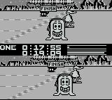 Alien Olympics Game Boy Crossing the finish line!