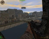 Medal of Honor: Allied Assault Windows Protecting the tank