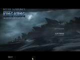 Peter Jackson's King Kong: The Official Game of the Movie Windows Main menu