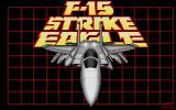 F-15 Strike Eagle Atari ST Loading screen