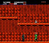Shinobi NES Those ninjas on stage 2-2 will only be hit at their legs.
