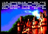 Xyphoes Fantasy Amstrad CPC The wizard gives you a new mission