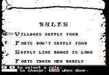 The Ancient Art of War Apple II Setting up rules of engagement.