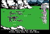 The Ancient Art of War Apple II On to the battlefield.