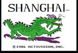 Shanghai Apple II Title screen.