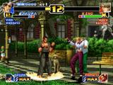 The King of Fighters '99: Millennium Battle PlayStation Aiming to recover some power gauge energy, Takuma Sakazaki decides to use his move Sanchin no Kata.