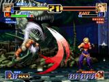 The King of Fighters '99: Millennium Battle PlayStation Could Blue Mary find a way to avoid Jhun Hoon's DM Hou'ou Ressou Kyaku and attack him? Maybe...