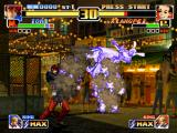 The King of Fighters '99: Millennium Battle PlayStation After some hits of Iori's DM Kin 1211 Shiki: Ya Otome, Xiangfei finally burns into his flames...