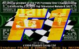 Formula One DOS Title screen