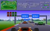 Formula One DOS Ready at the starting position.