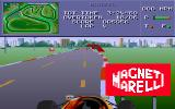 Formula One DOS Oops!.... that sign's in the way!