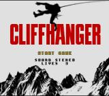 Cliffhanger SNES Title Screen