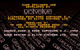 Gremlins 2: The New Batch Atari ST Copyright info