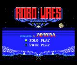 Robo Wres 2001 MSX South Korean title screen