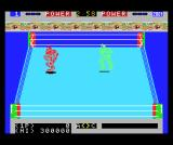 Robo Wres 2001 MSX Red goes for the ropes
