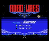 Robo Wres 2001 MSX Japanese title screen