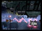 R-Type Final PlayStation 2 Blasting an enemy with a zig-zag laser.
