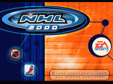 NHL 2000 Windows Title screen