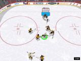 NHL 2000 Windows Strong shots leave a trail (software mode)